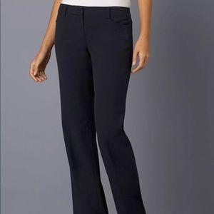 Michael Kors Navy Flat Front Dress Work Pants